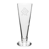 Baseball Player Swing 16 oz. Deep Etched Classic Pilsner