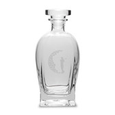 Golfer 23.75 Deep Etched Rossini Decanter