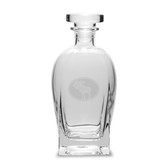Moose Oval 23.75 Deep Etched Rossini Decanter