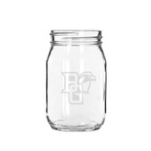 Bowling Green State Falcons Deep Etched 16 oz. Jar