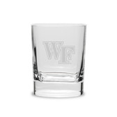 Wake Forest Demon Deacons Deep Etched 11.75 oz. Double Old Fashion Glass