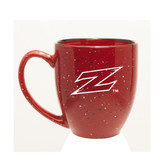 Akron Zips Deep Etched 15 oz. Red Bistro Mug