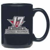 Alabama Crimson Tide 2017 National Champions Coffee Mug Black