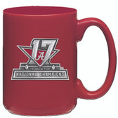 Alabama Crimson Tide 2017 National Champions Coffee Mug Red