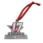 Alabama Crimson Tide 2017 National Champions Ornament