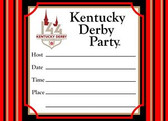 144th Kentucky Derby Party Invitations - 8 cards w/envelopes