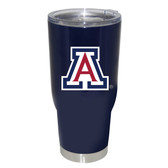 Arizona Wildcats 32oz Decal Powder Coated Stainless Steel Tumbler