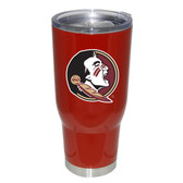 Florida State Seminoles 32oz Decal Powder Coated Stainless Steel Tumbler