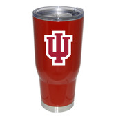 Indiana Hoosiers 32oz Decal Powder Coated Stainless Steel Tumbler