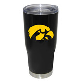 Iowa Hawkeyes 32oz Decal Powder Coated Stainless Steel Tumbler
