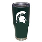 Michigan State Spartans 32oz Decal Powder Coated Stainless Steel Tumbler