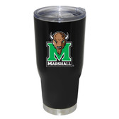 Marshall Thundering Herd 32oz Decal Powder Coated Stainless Steel Tumbler