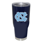 North Carolina Tar Heels 32oz Decal Powder Coated Stainless Steel Tumbler