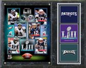 Super Bowl LII Match-Up Composite Plaque