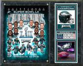 Philadelphia Eagles Super Bowl LII Champions Composite Plaque