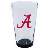 Alabama Crimson Tide 16oz Highlight Pint Glass