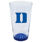Duke Blue Devils 16oz Highlight Pint Glass