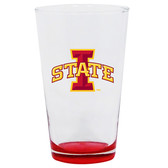 Iowa State Cyclones 16oz Highlight Pint Glass