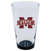 Mississippi State Bulldogs 16oz Highlight Pint Glass