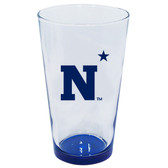 Navy 16oz Highlight Pint Glass