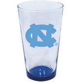 North Carolina Tar Heels 16oz Highlight Pint Glass