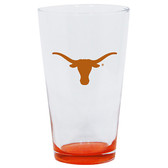 Texas Longhorns 16oz Highlight Pint Glass