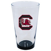South Carolina Gamecocks 16oz Highlight Pint Glass