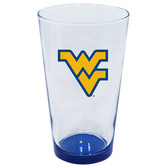 West Virginia Mountaineers 16oz Highlight Pint Glass
