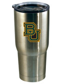 Baylor Bears 22oz Decal Stainless Steel Tumbler