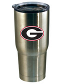 Georgia Bulldogs 22oz Decal Stainless Steel Tumbler
