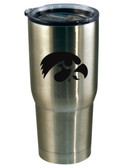 Iowa Hawkeyes 22oz Decal Stainless Steel Tumbler