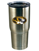 Missouri Tigers 22oz Decal Stainless Steel Tumbler