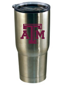 Texas A&M Aggies 22oz Decal Stainless Steel Tumbler