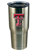 Texas Tech Red Raiders 22oz Decal Stainless Steel Tumbler