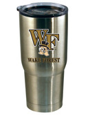 Wake Forest Demon Deacons 22oz Decal Stainless Steel Tumbler