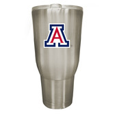 Arizona Wildcats 32oz Stainless Steel Decal Tumbler