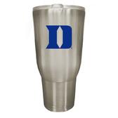 Duke Blue Devils 32oz Stainless Steel Decal Tumbler
