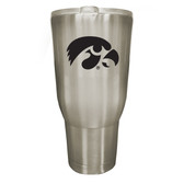 Iowa Hawkeyes 32oz Stainless Steel Decal Tumbler