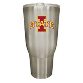 Iowa State Cyclones 32oz Stainless Steel Decal Tumbler