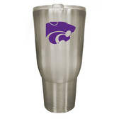 Kansas State Wildcats 32oz Stainless Steel Decal Tumbler