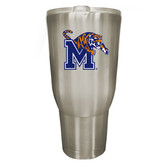 Memphis Tigers 32oz Stainless Steel Decal Tumbler