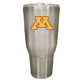 Minnesota Golden Gophers 32oz Stainless Steel Decal Tumbler