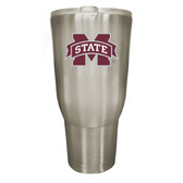 Mississippi State Bulldogs 32oz Stainless Steel Decal Tumbler