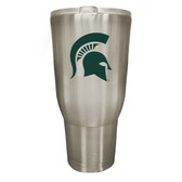 Michigan State Spartans 32oz Stainless Steel Decal Tumbler