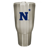 Navy Midshipmen 32oz Stainless Steel Decal Tumbler