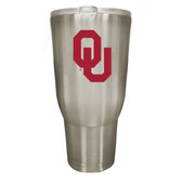 Oklahoma Sooners 32oz Stainless Steel Decal Tumbler