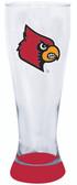 Louisville Cardinals 23 oz Highlight Decal Pilsner