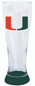 Miami Hurricanes 23 oz Highlight Decal Pilsner