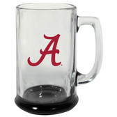 Alabama Crimson Tide 15 oz Highlight Decal Glass Stein