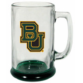 Baylor Bears 15 oz Highlight Decal Glass Stein